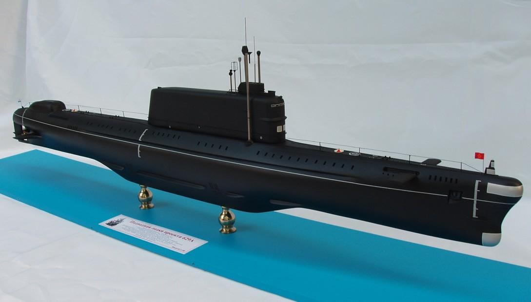 лодок проекта 629а