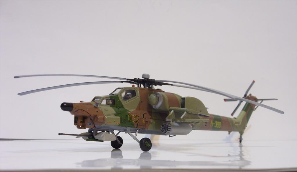 инструкция по сборке модели ми-28н - фото 4