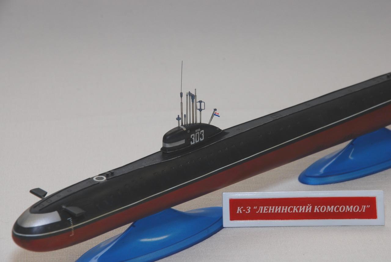 первая атомная подводных лодок