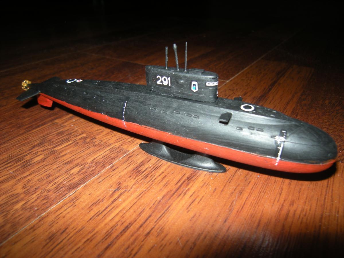 модели подводных лодок от фирмы моделист
