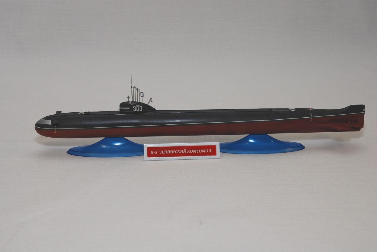 Атомная подводная лодка к 3 flagman 1 350