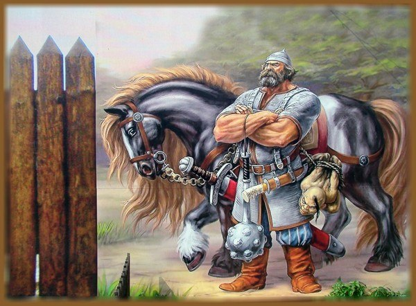Илья Муромец и соловей разбойник, 54мм ...: karopka.ru/community/user/15777/?MODEL=397066