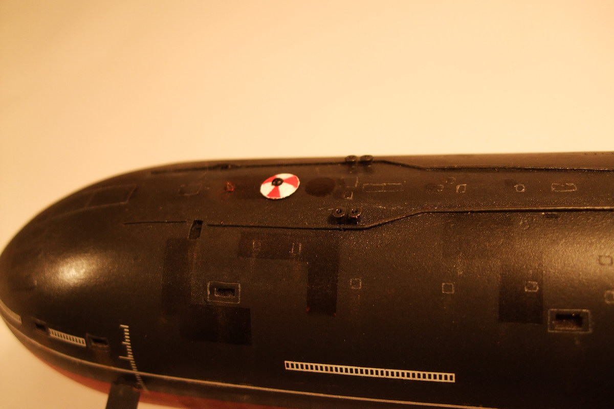 подводная лодка кабель на винт