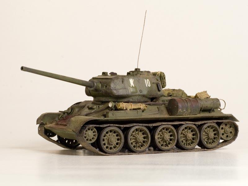 Т-34/85 №10 36-й Гвардейской танковой бригады — Каропка.ру ...