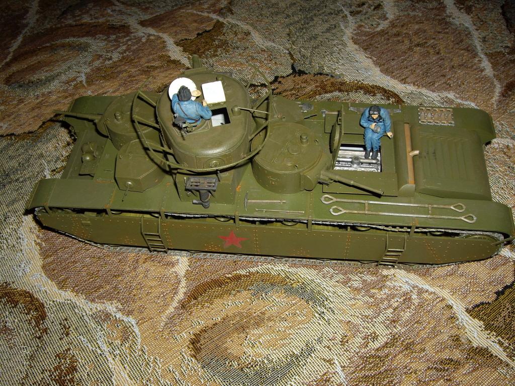 Т-35 1/35 — Каропка.ру — стендовые модели, военная миниатюра
