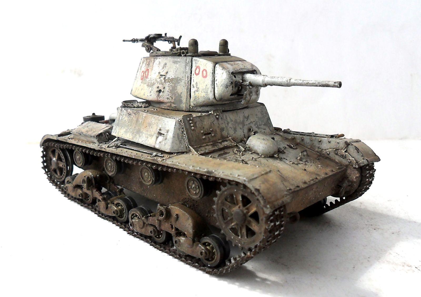 Т-26-1 обр. 1939 г. — Каропка.ру — стендовые модели, военная миниатюра