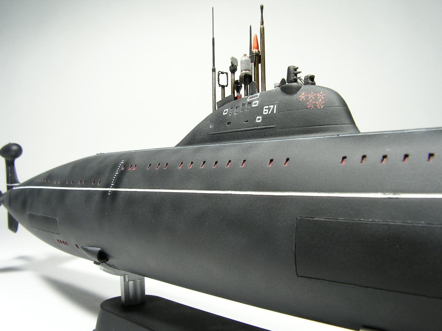 лодка проекта 671ртмк