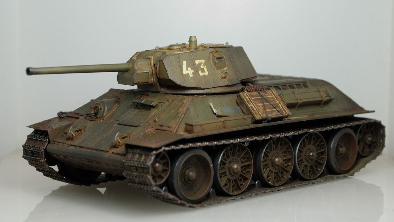 Т-34/76 выпуск начала 1943г 1/35 (Моделист №303529) - Страница 2 Photo_1_1347557053