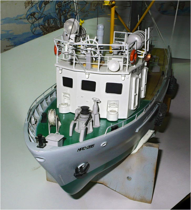 рыболовный сейнер мрс-150