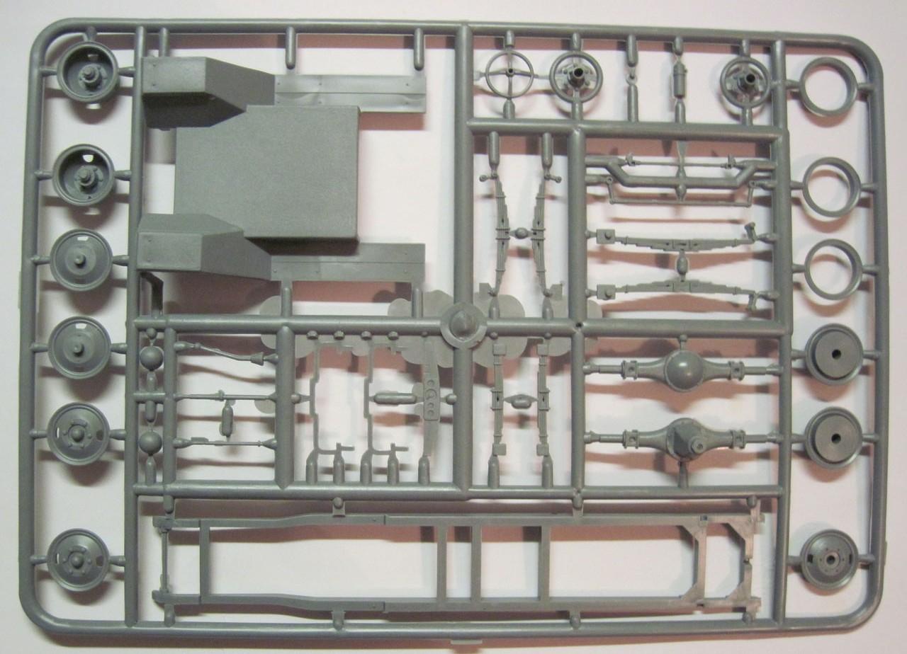 схема сборки модели зис42