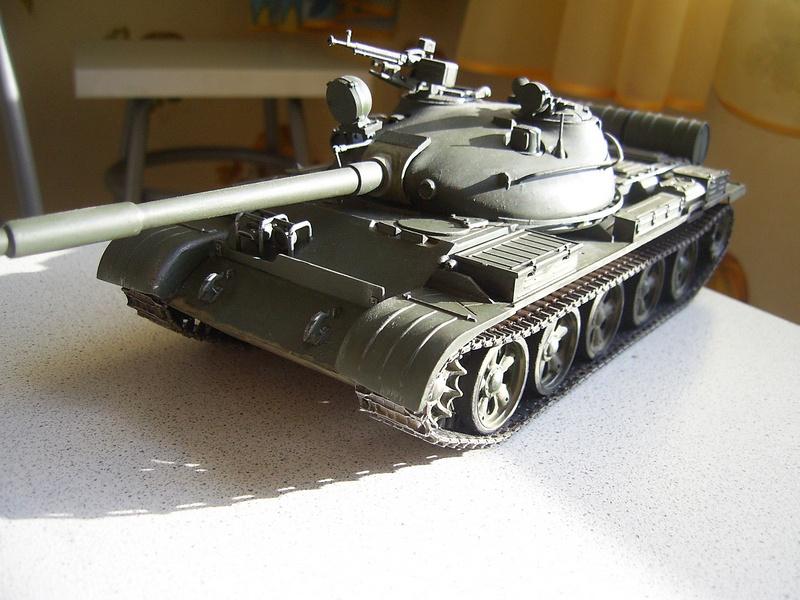 Т-62а 1:35 tamiya