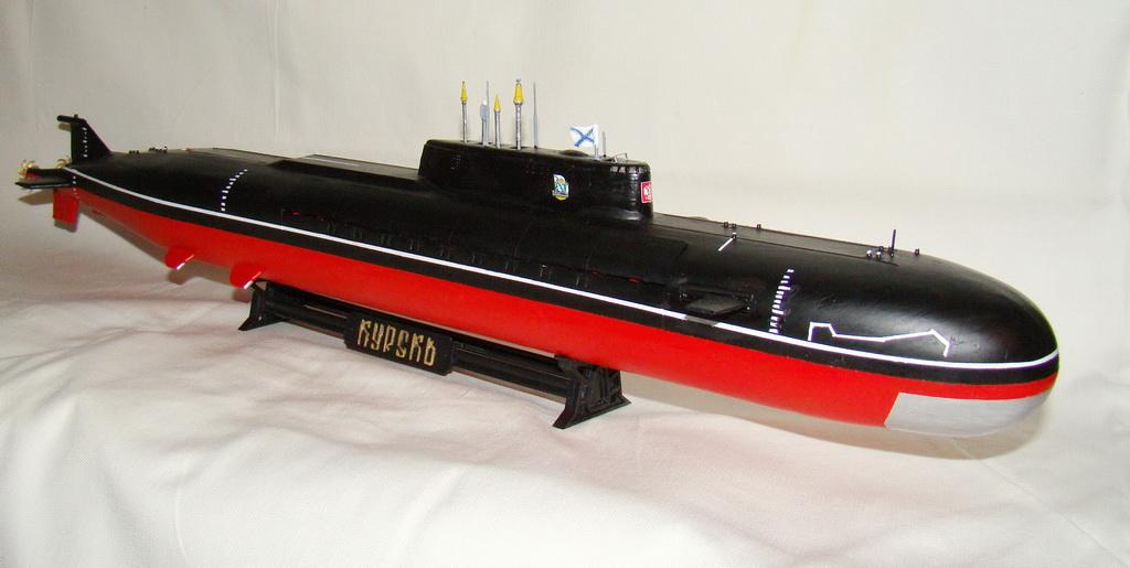 размеры курска подводной лодки