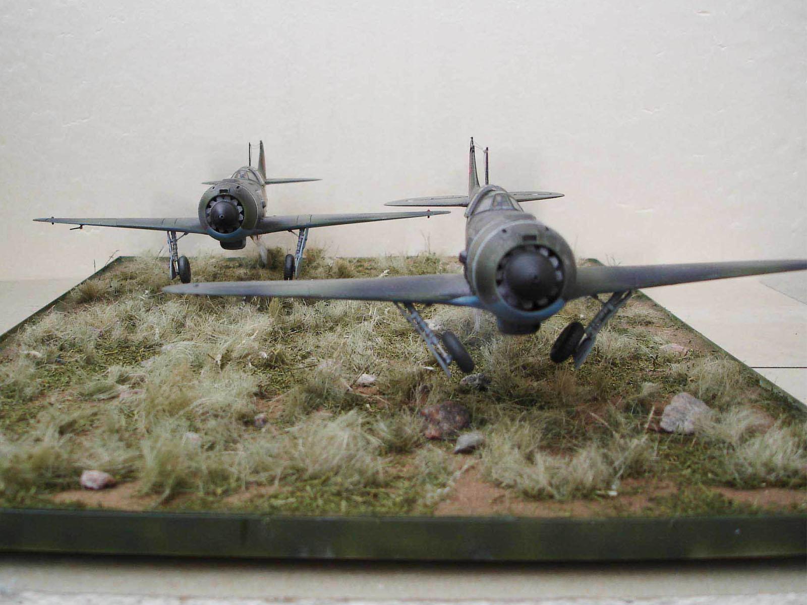 ЛА-5.На взлете — Каропка.ру — стендовые модели, военная миниатюра