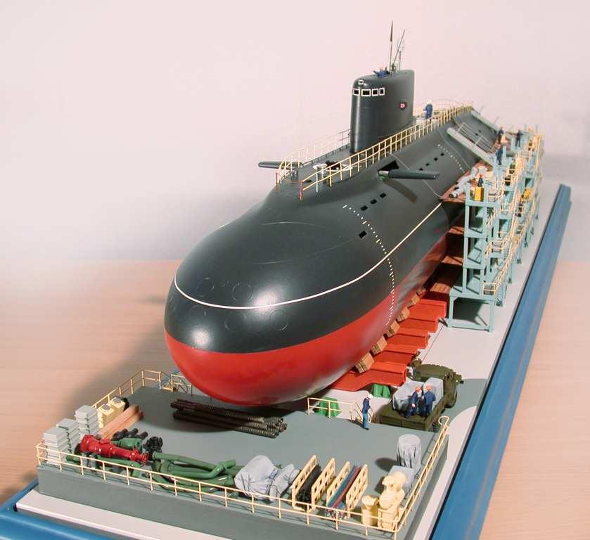 дизельная подводная лодка б-394