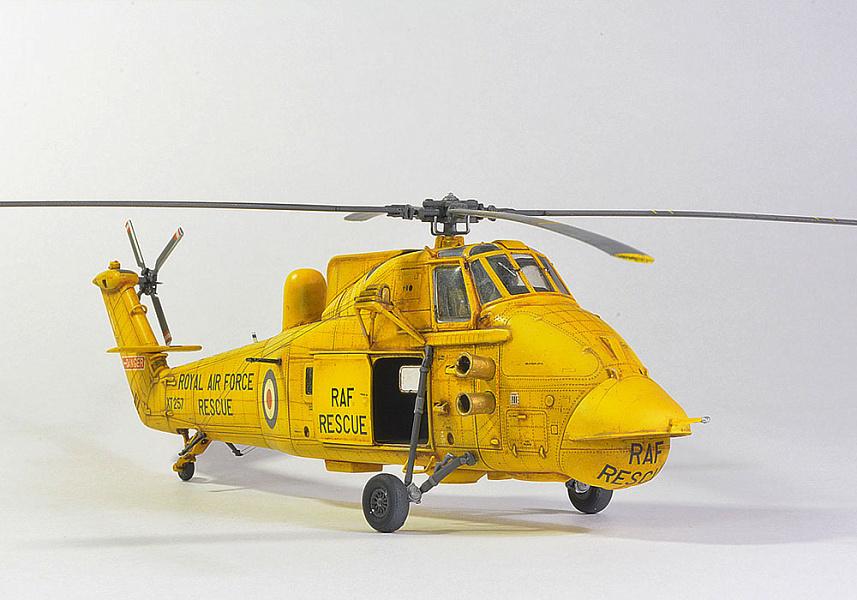 Модель вертол та весекс 1 48
