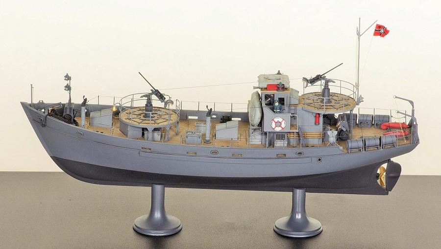 немецкие катера и лодки