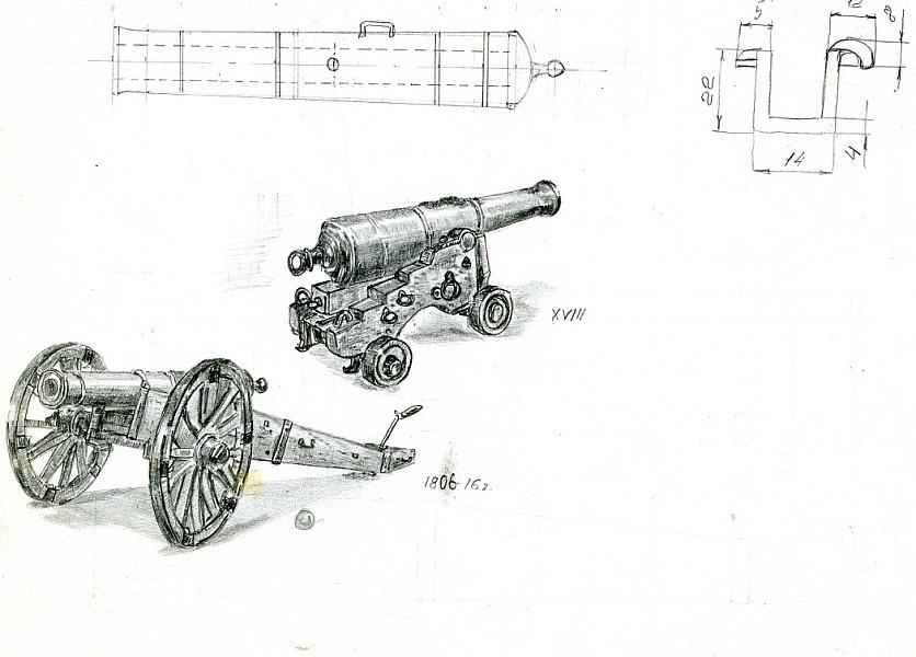 Макеты пушек времен войны 1812 года своими руками 68