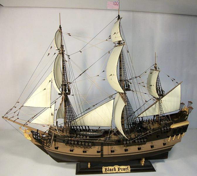 Модель корабля своими руками черная жемчужина 72