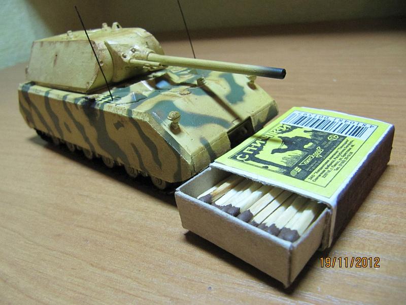 Делаем танк из спичечных коробков вместе с детьми 79