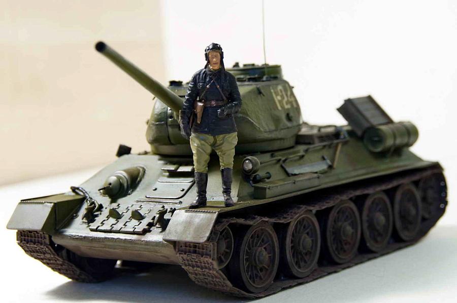 Т-34 взгляд изнутрнаружи / Т-34 в бою
