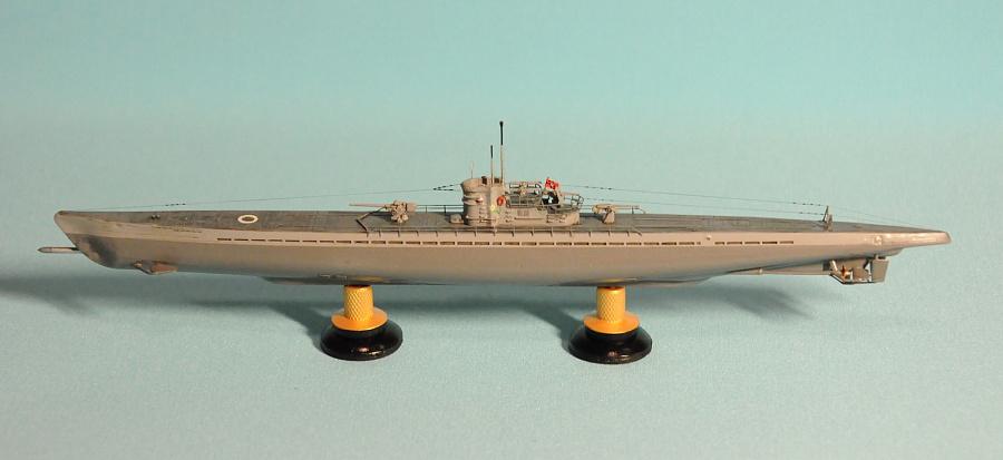 U-124. U-boat type IX-B. 1/350 Flagman — Каропка.ру ...