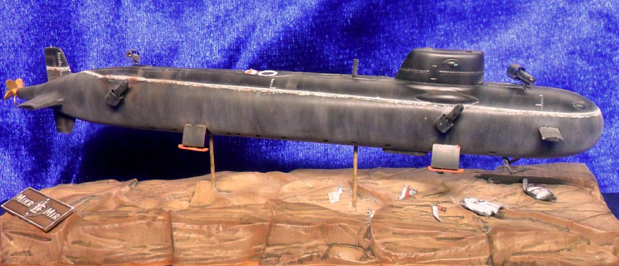 глубоководная атомная подводная лодка лошарик