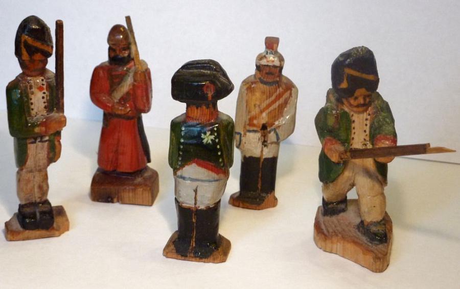 Деревянные солдаты своими руками 72