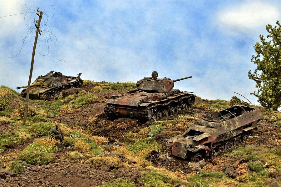 картинка русские танки на поле боя студиях