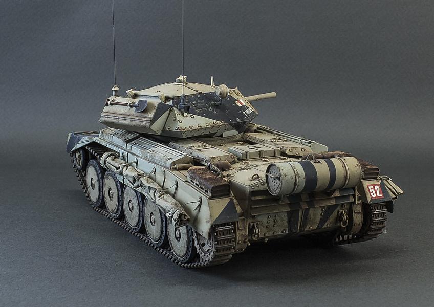 этом фото танка крусейдер ест