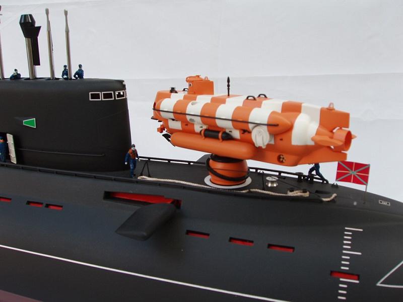подводная лодка 940 проект ленок