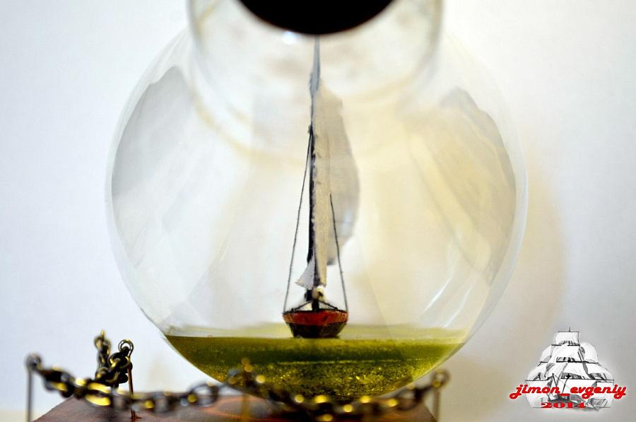 лодка в лампочке