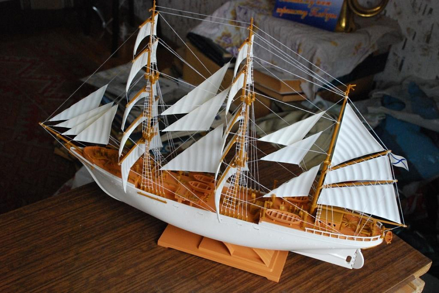 виде корабль товарищ модель фото яхту