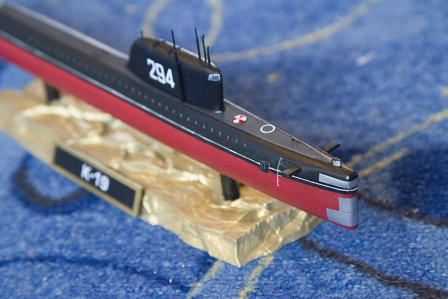 подводная лодка к19 это о чем