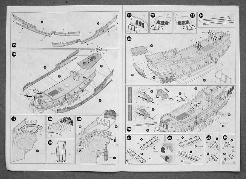 Модель корабля чертежи черная жемчужина
