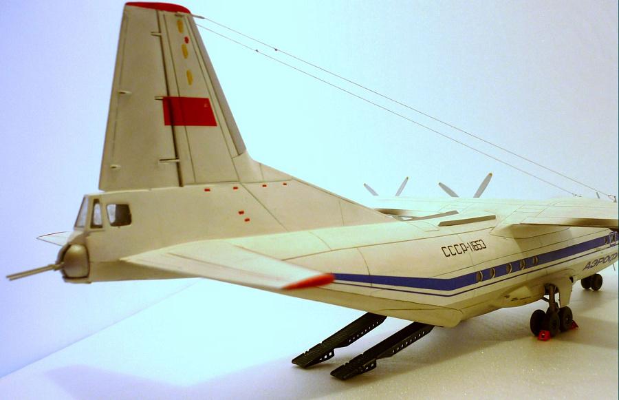 Модель ан-12 фото