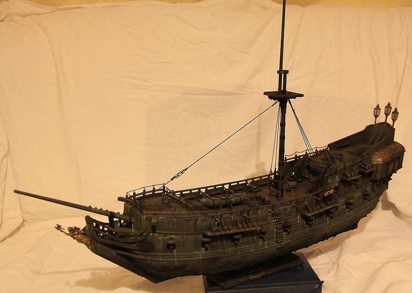 Модель корабля своими руками черная жемчужина 86
