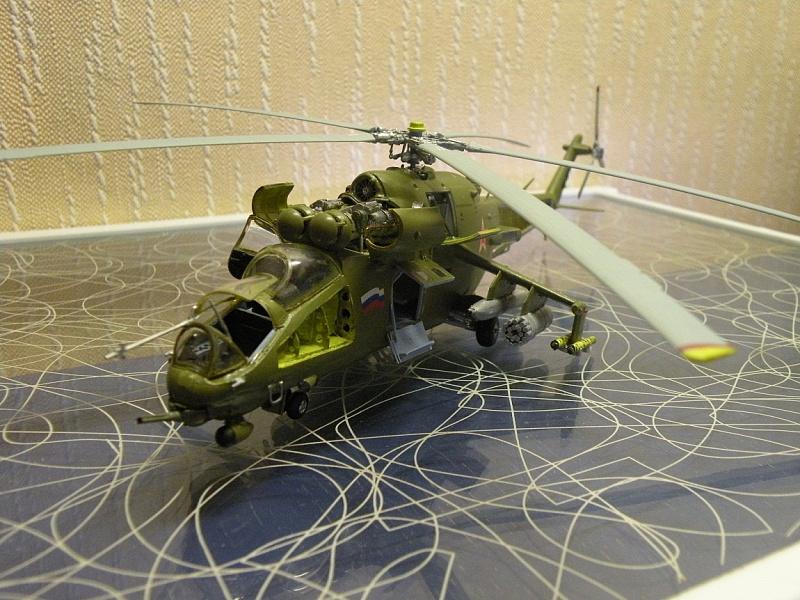 Макет вертолета ми 24 крокодил