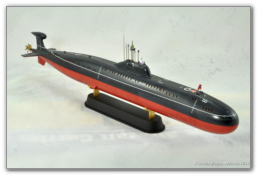 атомная подводная лодка проекта 671 ртм