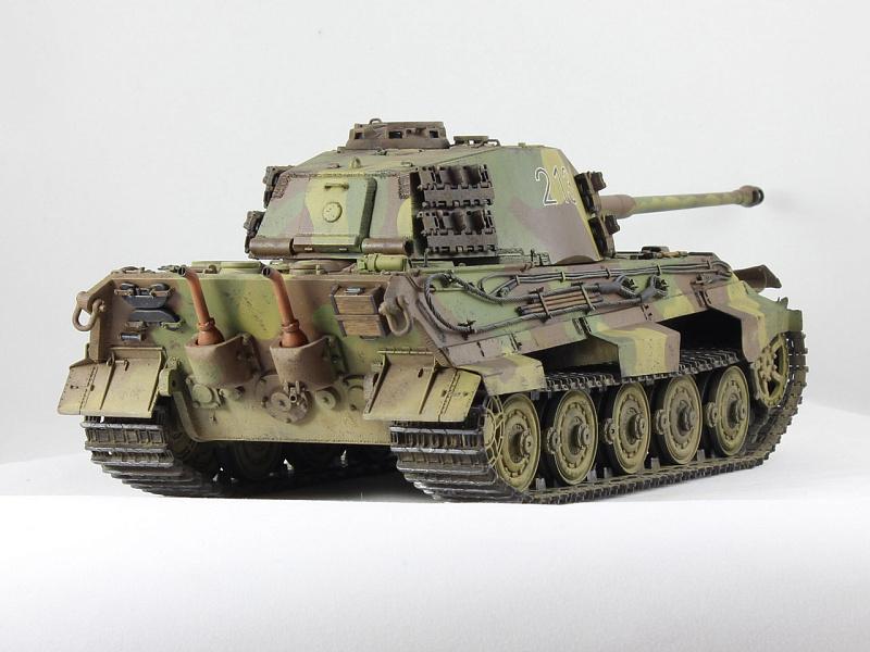 Действующие модели танка своими руками