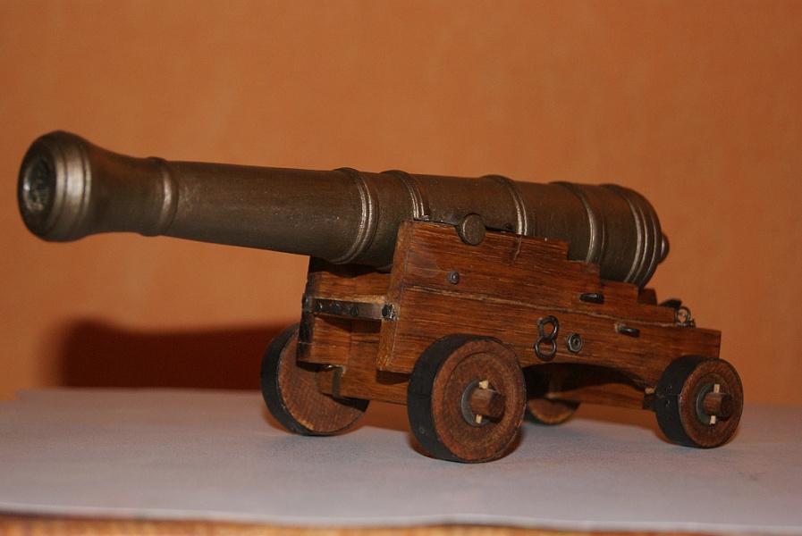 Старая пушка своими руками 95