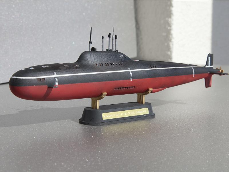 модель подводной лодки альфа