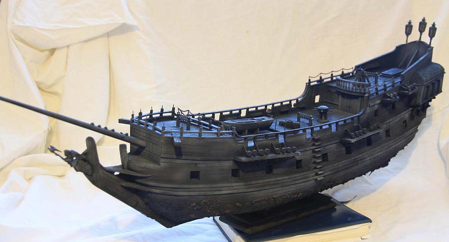 Модель корабля своими руками черная жемчужина 5