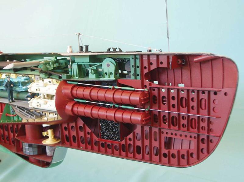 Действующие модели подводных лодок своими руками 79