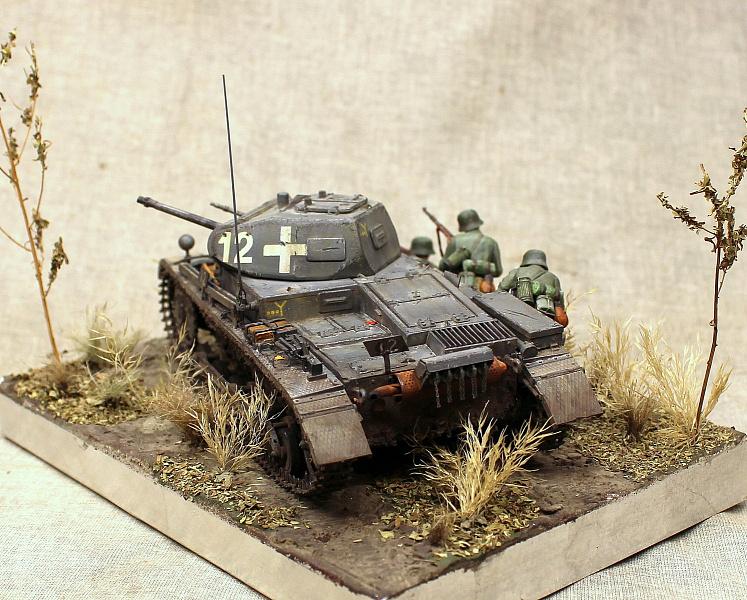 492Подставка для танка