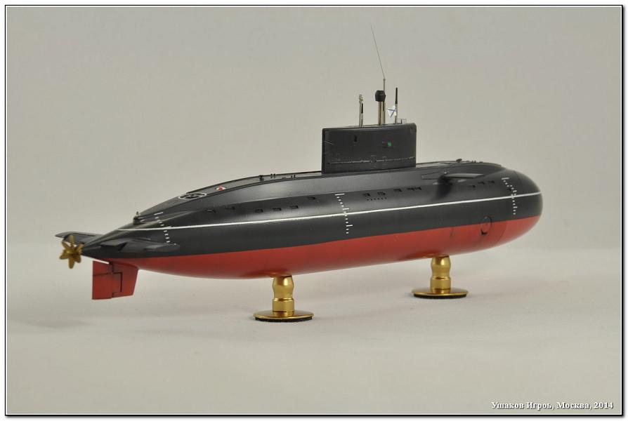 электрическая подводная лодка варшавянка