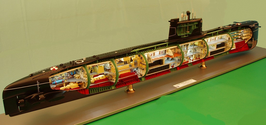 конструкция подводная лодка фото